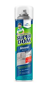 Foto do produto  Álcool Aerossol 66,6%